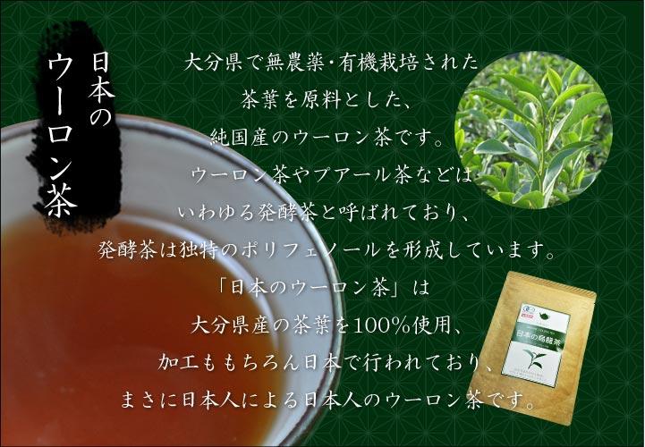 日本のウーロン茶とは